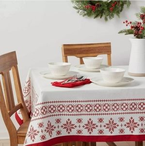"""Oblong Tablecloth Threshold 60""""×120"""""""